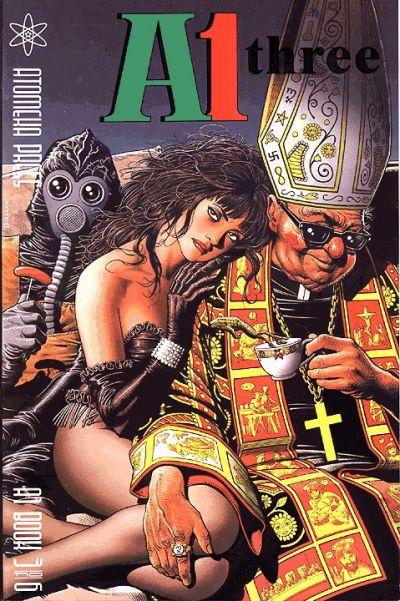 Cover for A1 (Atomeka Press, 1989 series) #3