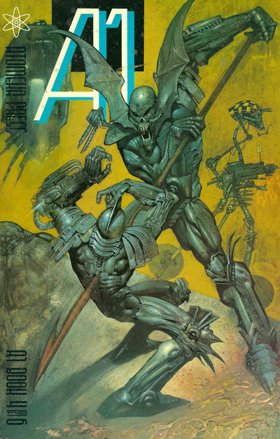 Cover for A1 (Atomeka Press, 1989 series) #4