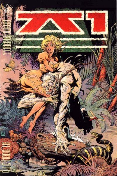 Cover for A1 (Atomeka Press, 1989 series) #5