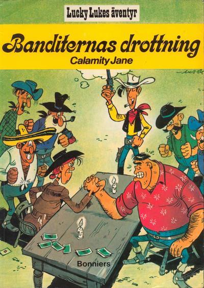 Cover for Lucky Lukes äventyr / Lucky Luke klassiker (Bonniers, 1979 series) #10 - Banditernas Drottning – Calamity Jane