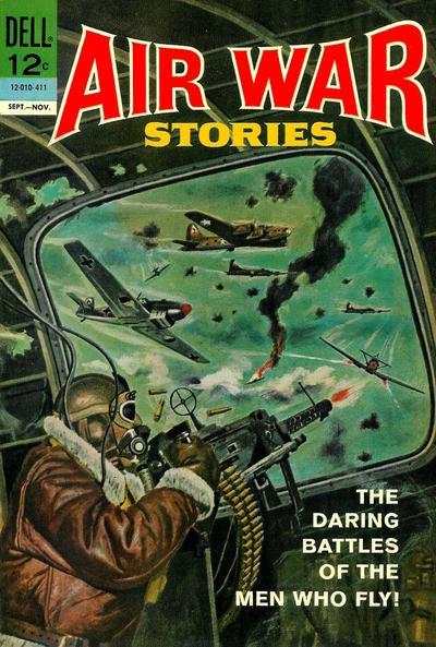 Cover for Air War Stories (Dell, 1964 series) #1