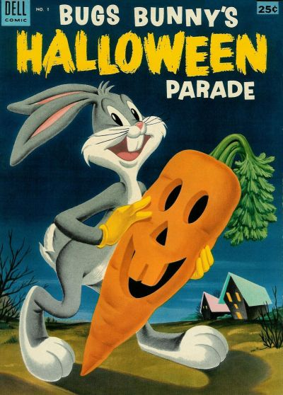 Cover for Bugs Bunny's Halloween Parade (Dell, 1953 series) #1