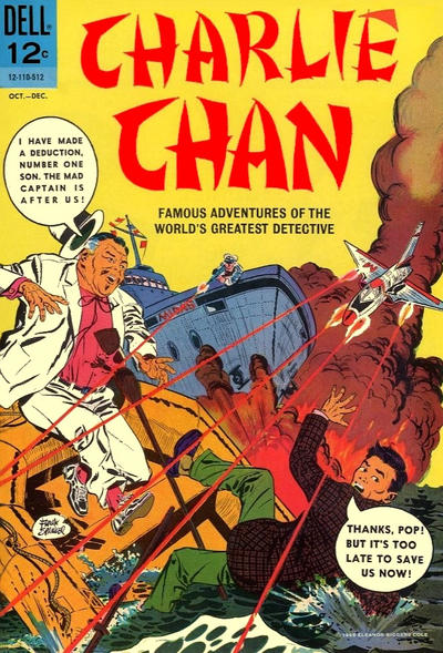 Cover for Charlie Chan (Dell, 1965 series) #1