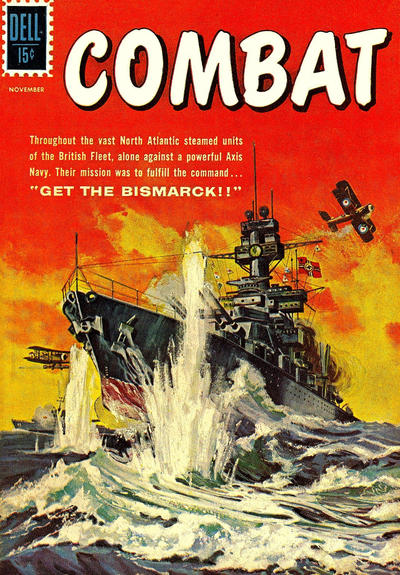 Cover for Combat (Dell, 1961 series) #1