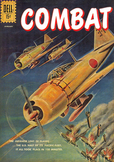 Cover for Combat (Dell, 1961 series) #2