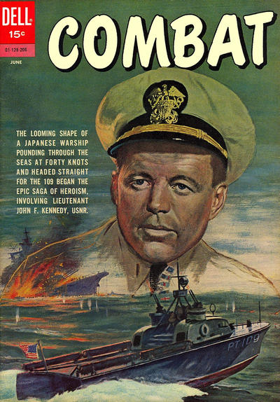 Cover for Combat (Dell, 1961 series) #4