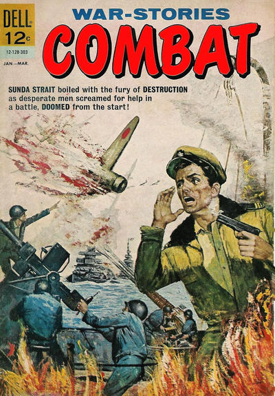 Cover for Combat (Dell, 1961 series) #7