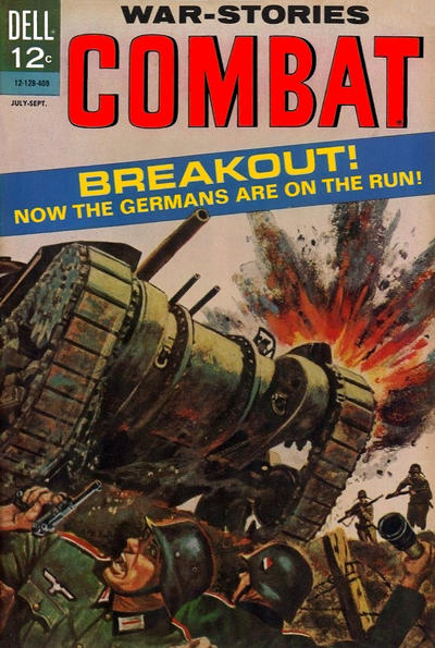 Cover for Combat (Dell, 1961 series) #13