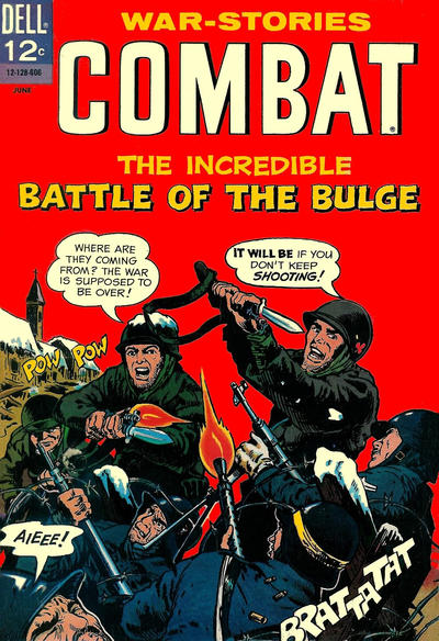 Cover for Combat (Dell, 1961 series) #20