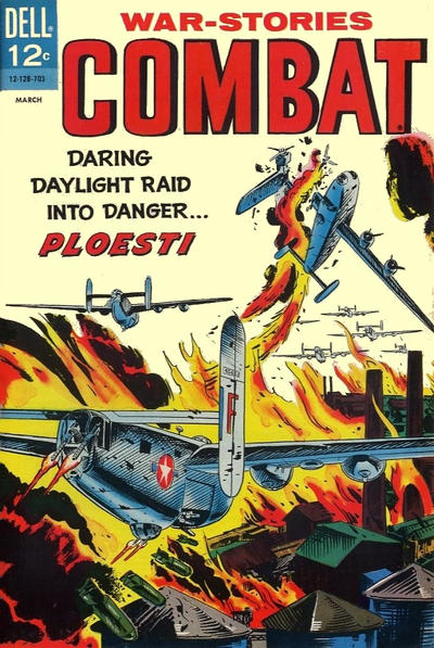 Cover for Combat (Dell, 1961 series) #23