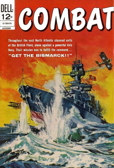 Cover for Combat (Dell, 1961 series) #27