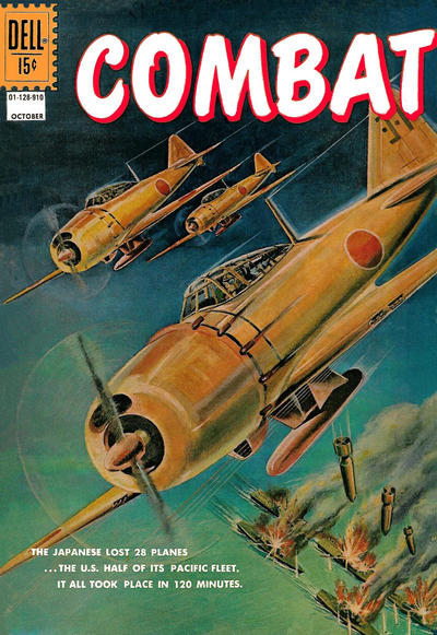 Cover for Combat (Dell, 1961 series) #28
