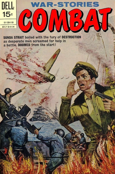 Cover for Combat (Dell, 1961 series) #33