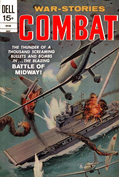 Cover for Combat (Dell, 1961 series) #36
