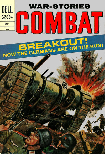 Cover for Combat (Dell, 1961 series) #39
