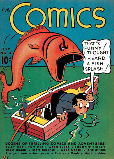 Cover for The Comics (Dell, 1937 series) #4