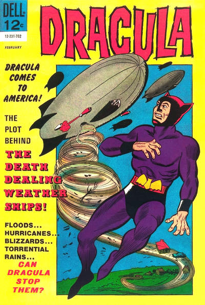 Cover for Dracula (Dell, 1962 series) #3