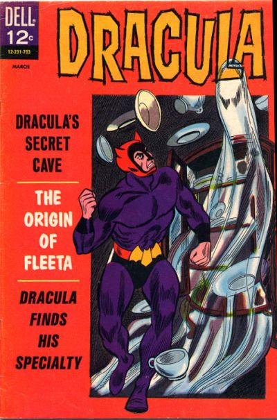 Cover for Dracula (Dell, 1962 series) #4
