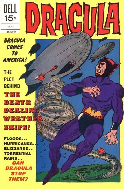 Cover for Dracula (Dell, 1962 series) #7