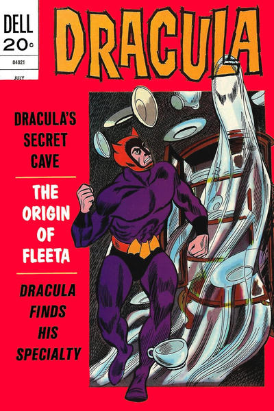 Cover for Dracula (Dell, 1962 series) #8