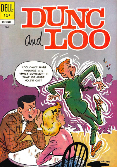Cover for Dunc and Loo (Dell, 1962 series) #4