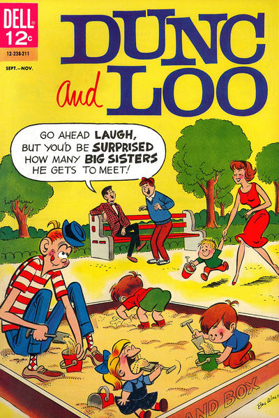 Cover for Dunc and Loo (Dell, 1962 series) #5