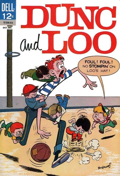 Cover for Dunc and Loo (Dell, 1962 series) #8