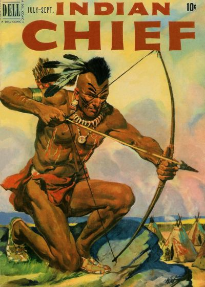 Cover for Indian Chief (Dell, 1951 series) #3