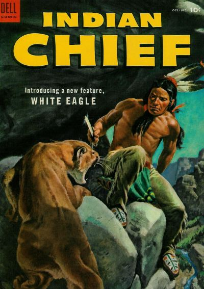 Cover for Indian Chief (Dell, 1951 series) #12