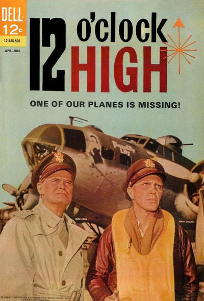 Cover for 12 O'Clock High (Dell, 1965 series) #2