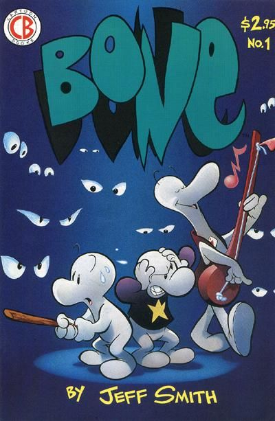 Cover for Bone (Cartoon Books, 1991 series) #1 [First Printing]
