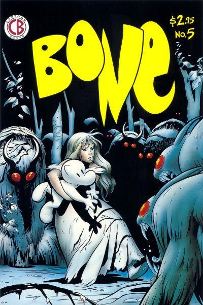 Cover for Bone (Cartoon Books, 1991 series) #5