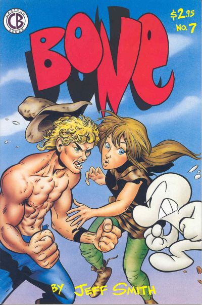 Cover for Bone (Cartoon Books, 1991 series) #7