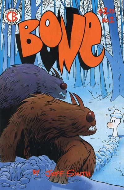 Cover for Bone (Cartoon Books, 1991 series) #2