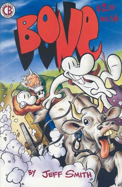 Cover for Bone (Cartoon Books, 1991 series) #14