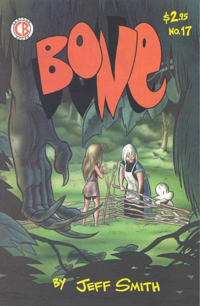 Cover for Bone (Cartoon Books, 1991 series) #17