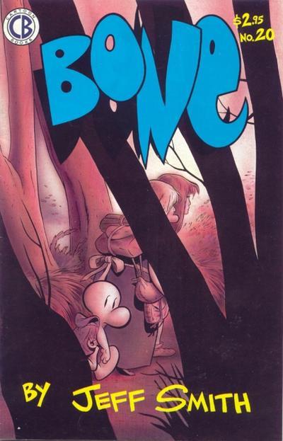 Cover for Bone (Cartoon Books, 1991 series) #20
