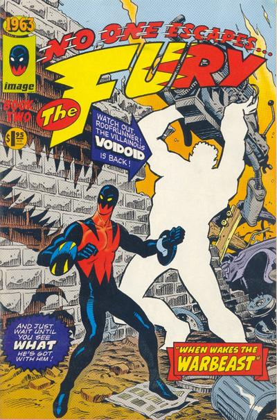 Cover for 1963 (Image, 1993 series) #2