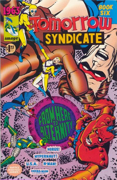 Cover for 1963 (Image, 1993 series) #6