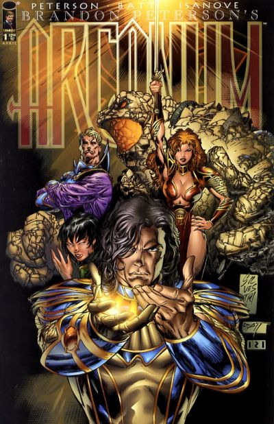 Cover for Arcanum (Image, 1997 series) #1 [Silvestri Variant]