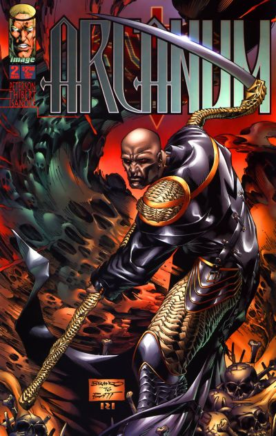 Cover for Arcanum (Image, 1997 series) #2
