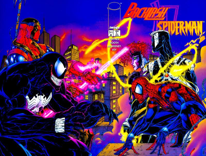 Cover for Backlash/Spider-Man (Image, 1996 series) #1 [Regular Edition]