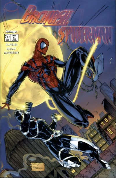 Cover for Backlash/Spider-Man (Image, 1996 series) #2