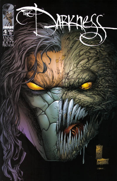 Cover for The Darkness (Image, 1996 series) #4