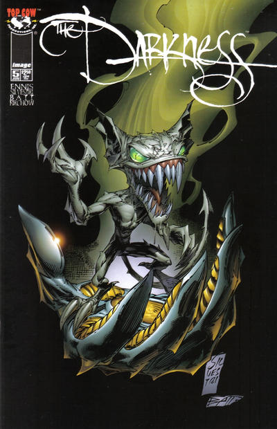 Cover for The Darkness (Image, 1996 series) #5