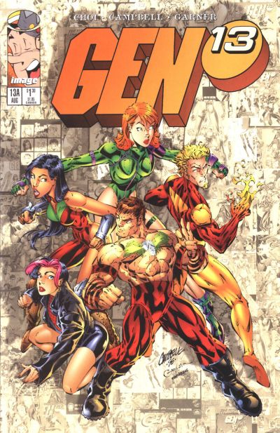 Cover for Gen 13 (Image, 1995 series) #13a