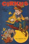 Cover for Cirkus med Tuff och Tuss (Åhlén & Åkerlunds, 1959 series) #3/1959