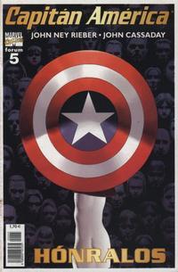 Cover Thumbnail for Capitán América (Planeta DeAgostini, 2003 series) #5