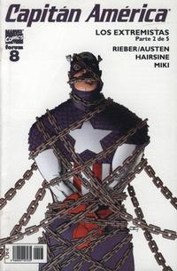 Cover Thumbnail for Capitán América (Planeta DeAgostini, 2003 series) #8