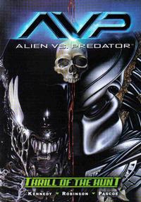 Cover for Alien vs. Predator: Thrill of the Hunt (Dark Horse, 2004 series)